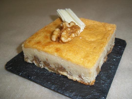 Brownies de queso