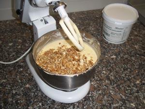 (step 3) Cheese Brownies