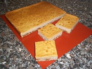 (step 5) Cheese Brownies
